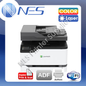 Lexmark CX431adw Wireless Multifunction Color Laser Printer+Duplex+ADF+AirPrint